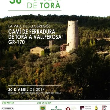 Caminada 2017. Camí de ferradura de Torà a Vallferosa. GR-170