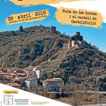 Caminada 2018. Ruta de les torres i castell de Castellfollit