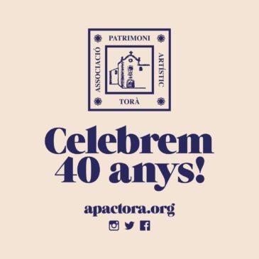 Avançament del programa 40 anys d'APACT