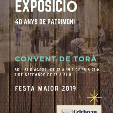 Exposició Festa Major 2019: 40 anys APACT